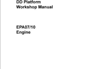detroit dd15 service manual pdf