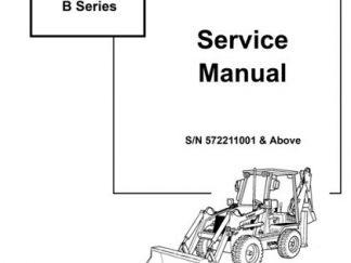 Bobcat B250 B Series Manual