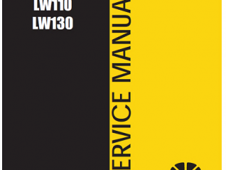 New Holland LW110,LW130 Service Repair Workshop Manual