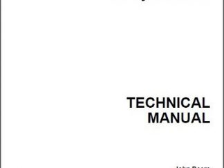 John Deere 655 755 756 855 856 Tractor Technical Manual