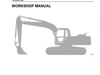 New Holland E265, E305 Tier3 Excavator Service Repair Workshop Manual