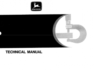 John Deere 310A, 310B Backhoe Loaders Technical Manual